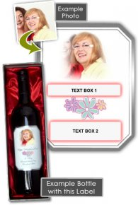 Mothers Day Wine Gift + Gift Box