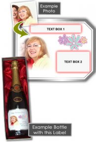 Mothers Day Champagne Gift + Gift Box