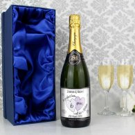 Personalised A Perfect Love Champagne with Gift Box
