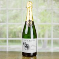 Personalised Wedding Champagne Gift