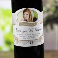 Personalised Wine Gift for Teacher
