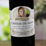 Gift for Aunt Personalised Wine
