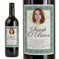 21st Birthday Present Personalised Birthday Wine