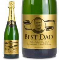 Father's Day Personalised Champagne Gift