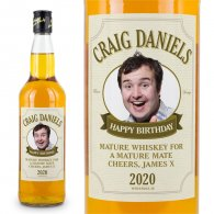 Fathers Day Personalised Whiskey Present Gift