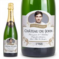 Best Man Gift Personalised Champagne Wedding Present
