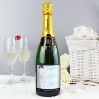 Personalised Fabulous Wedding For Him Champagne
