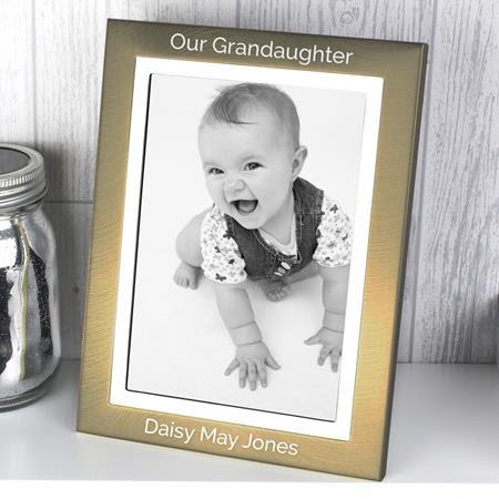 Personalised Frames baby