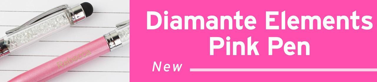 Pink Personalised Pen