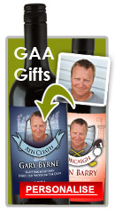 GAA Gifts Personalised Presents Wine