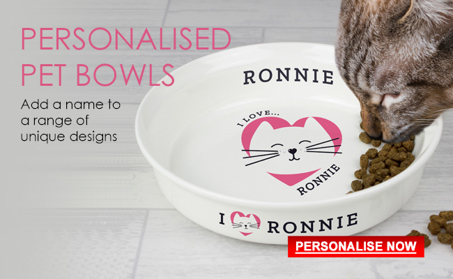 Personalised Bowls for Pets