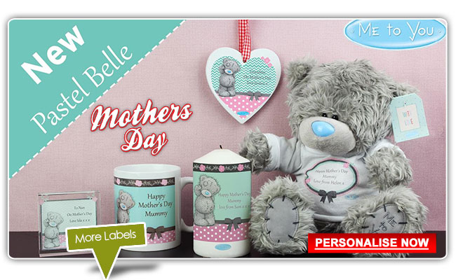 Personalised Me To You Mothers Day Gifts