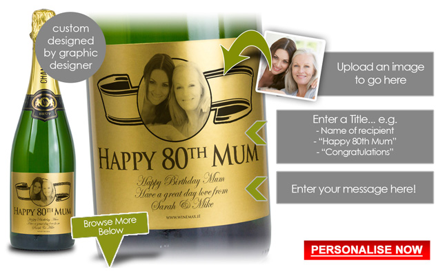 Personalised 70th Birthday Gift For Her Ireland