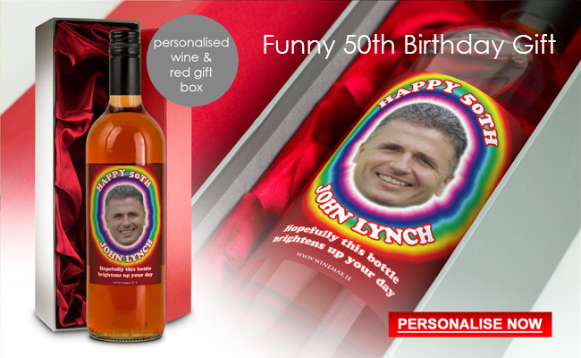 50th Birthday Gifts Personalised 50th Birthday Gift Ideas For Him Her