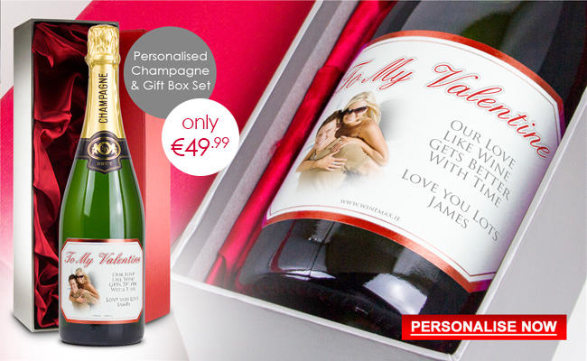 Valentines Champagne Gift Box set Special Offer